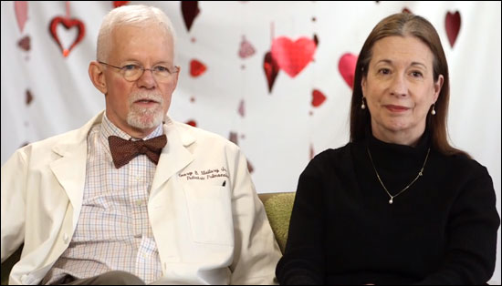 Valentine's Day video: Texas Children's couples share how they balance work and love