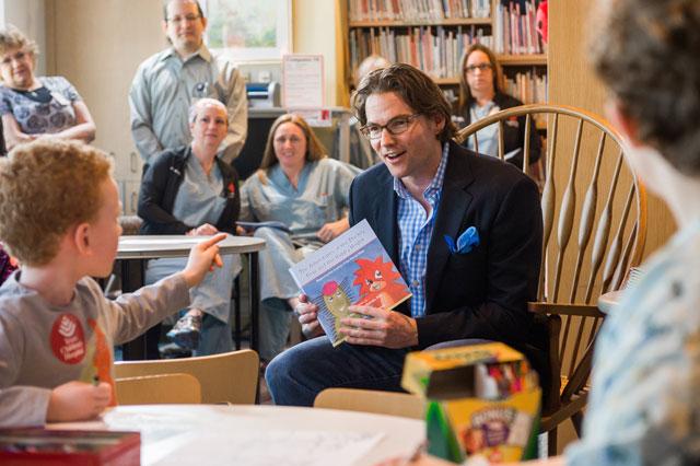 Patients inspire Dr. Buchanan's first children's book