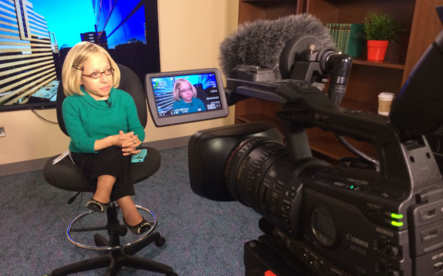 New on-site broadcast studio brings greater media access for Texas Children's health care experts