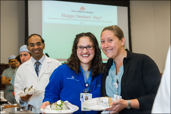 Doctors honored for their hard work
