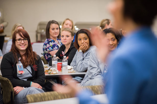 Largest class of nursing graduate students welcomed by CNO Lori Armstrong
