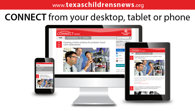 News on the go: TexasChildrensNews.org makes news easy to access anytime, on any device