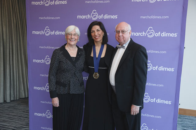 Zoghbi donates prize funds to establish program for budding scientists