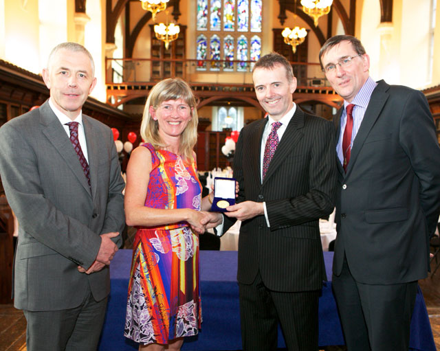 Dr. Daniel Penny receives 2014 UCC Medical School Medal