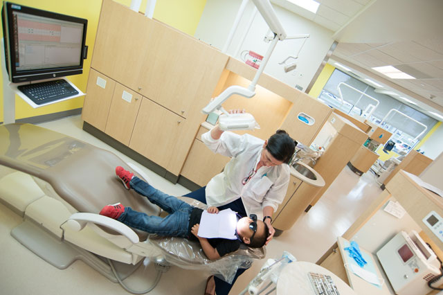 University of Texas Dental Clinic now open at The Center for Children and Women