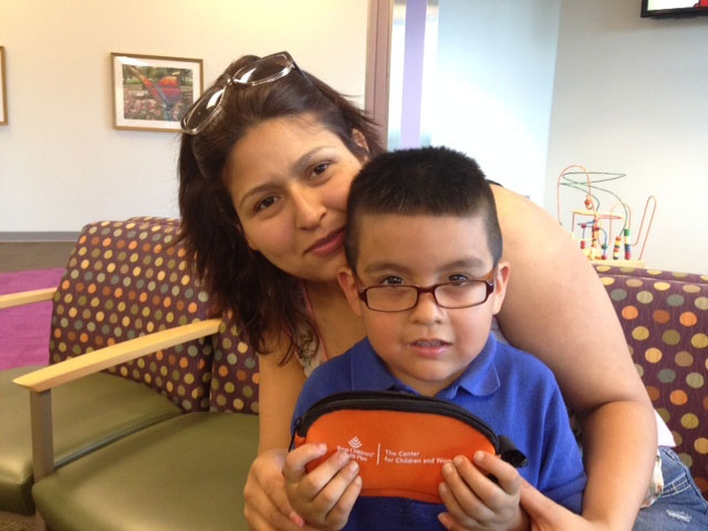 The Center for Children and Women now offers glasses