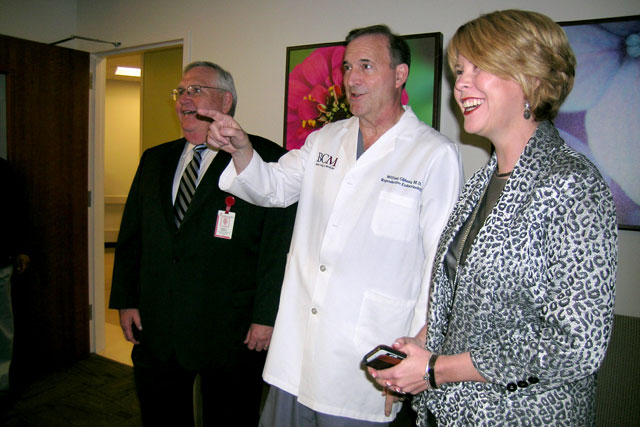 Employees tour Texas Children's state-of-the-art IVF clinic
