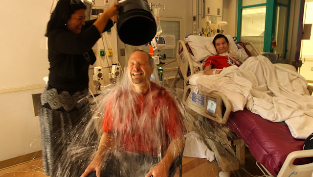 Texas Children's neurologist accepts ice bucket challenge on behalf of ALS patient