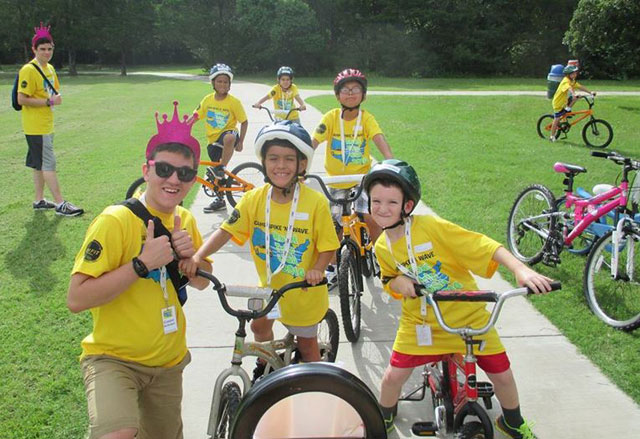 Texas Children's physicians, patients team up at Camp Spike 'n' Wave