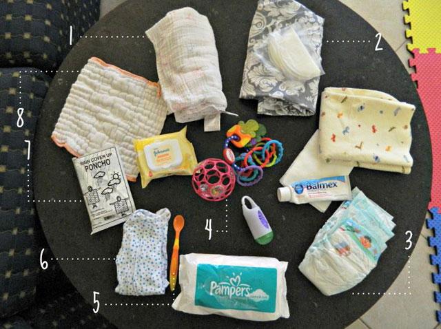 Bump Watch: Checklist – How to pack a diaper bag
