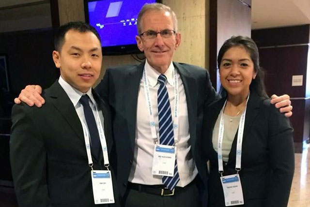 Surgical residents recognized at international meeting