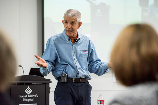 Mattress Mack speaks to West Campus leadership