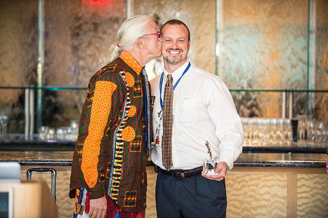 Patch Adams speaks at luncheon