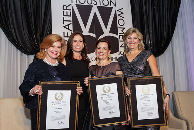 Three Texas Children's leaders inducted into the GHWCC Hall of Fame