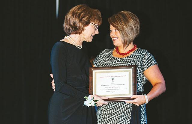 Smith receives prestigious AMTA award for music therapy research