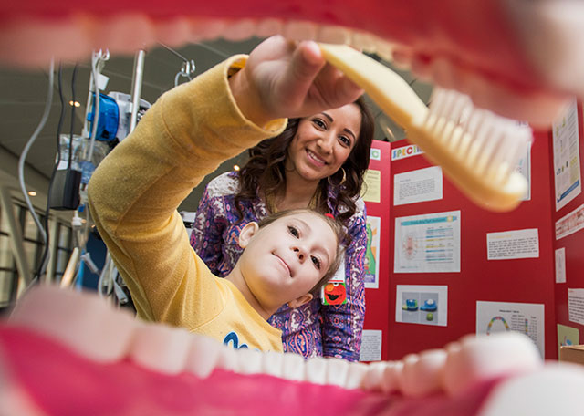 Dental experts teach hospital patients how to prevent, battle tooth decay