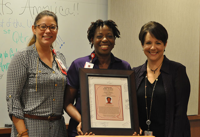Patient access representative named Best of the West recipient
