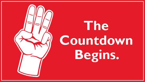 Save the Date!: The Countdown begins