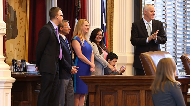 Texas Children's Surgical Team honored at the Texas Capitol