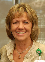 Judy Swanson presented with Distinguished Service Award