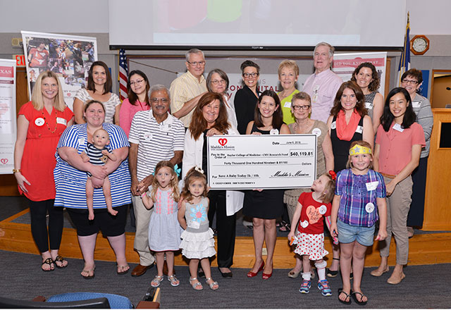Maddie's Mission donates $40,000 plus to CMV awareness efforts, research