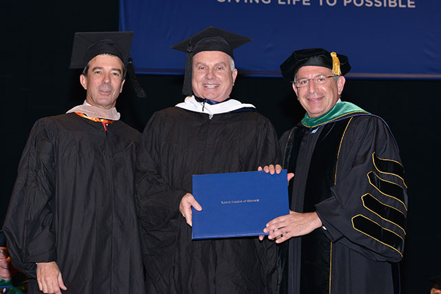 An honorary degree 38 years in the making