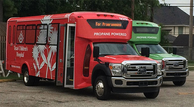 Texas Children's gets bold new shuttles equipped with new, exciting features