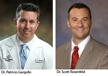 Texas Children's Auxiliary awards given to Gargollo and Rosenfeld