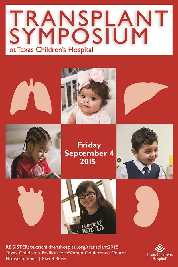 Transplant services team to host pediatric transplant symposium