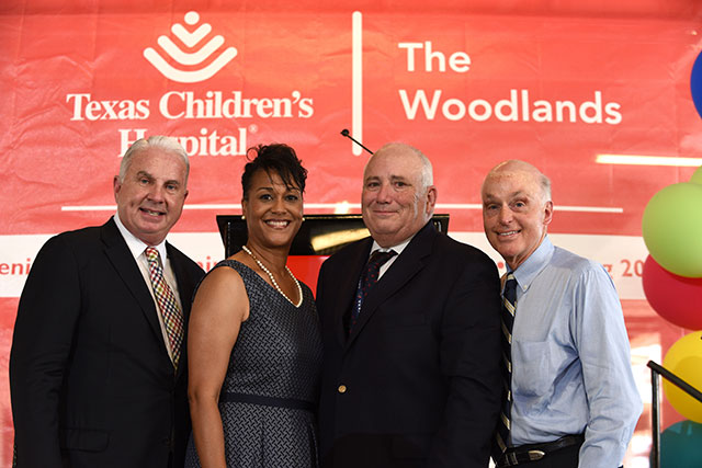 Topping out ceremony marks milestone for The Woodlands campus