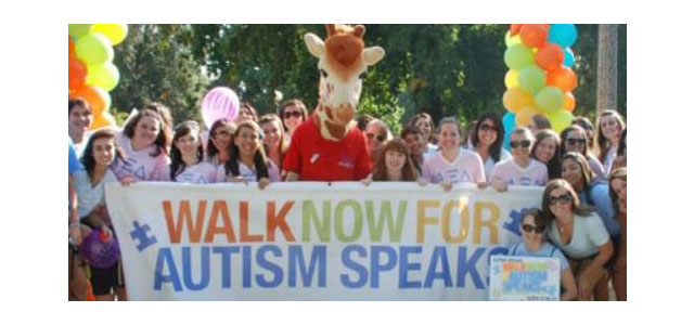 Join the NRI, Baylor team for the 2015 Walk Now for Autism Speaks