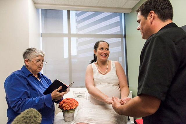 Above and beyond: MFM nurses, staff spring into action to fulfill patient's wedding wish