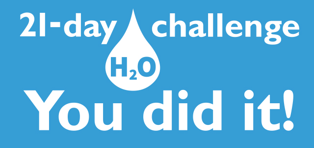 21-day H20 challenge wraps up with almost 5,000 participants