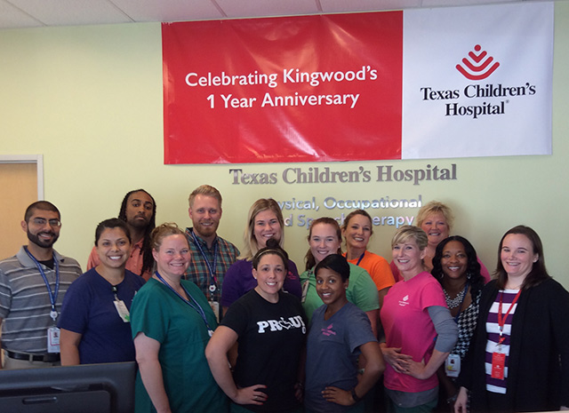 Kingwood therapy locations celebrate one-year anniversary