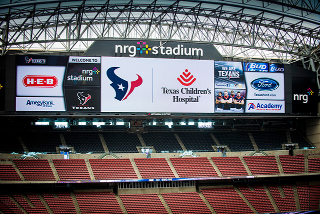 First season of Texas Children's partnership with Houston Texans in full swing