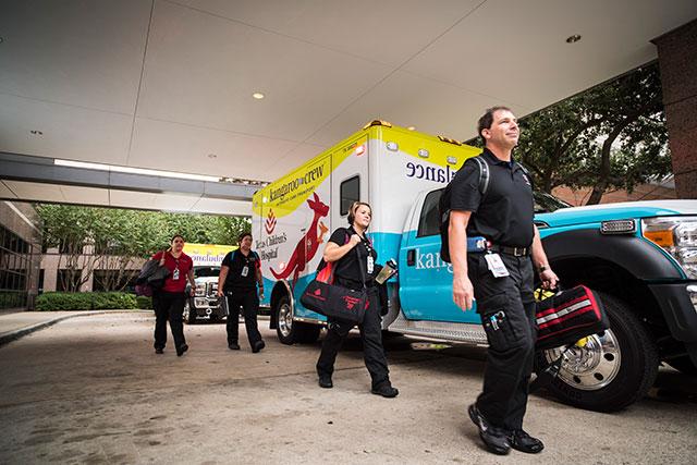 New Kangaroo Crew ambulances enhance safety for patients, transport team