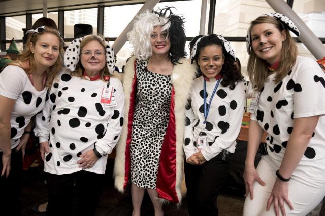 Texas Children's patients, staff celebrated fun-filled week of Halloween activities