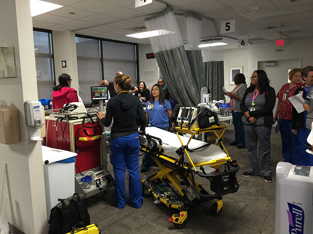 Temporary Acute Care Holding Unit opens at West Tower