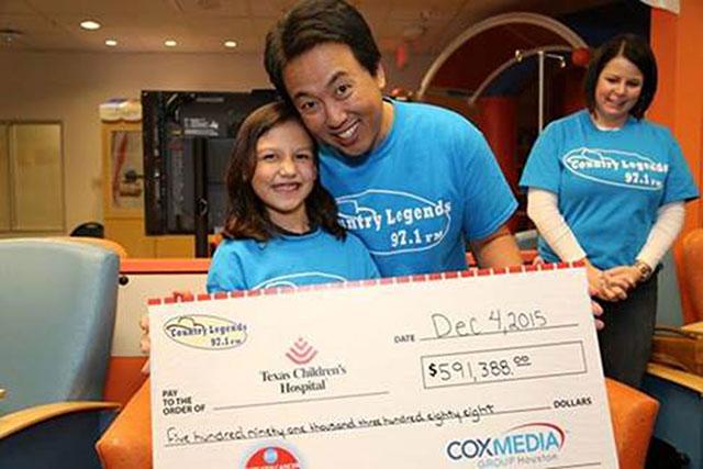 Radiothon raises more than $592,000 for Texas Children's Cancer Center