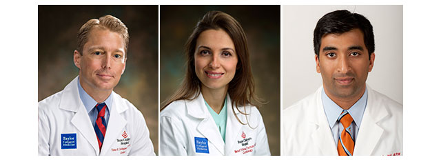 Texas Children's Heart Center welcomes trio of cardiologists