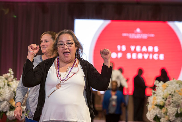 More than 500 employees honored for long-term service to Texas Children's