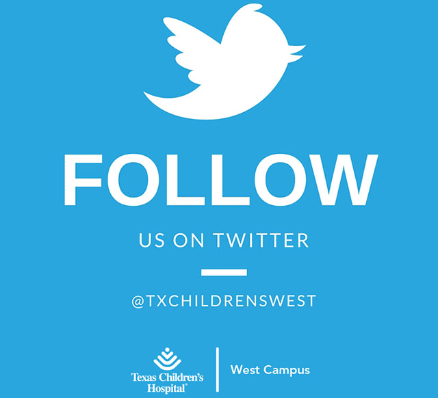 Texas Children's Hospital West Campus is on Twitter