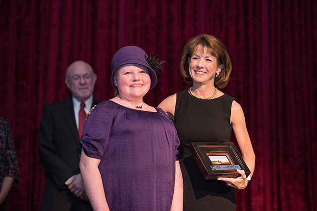 Blaney receives Pioneer Award for contributions in pediatric neuro-oncology