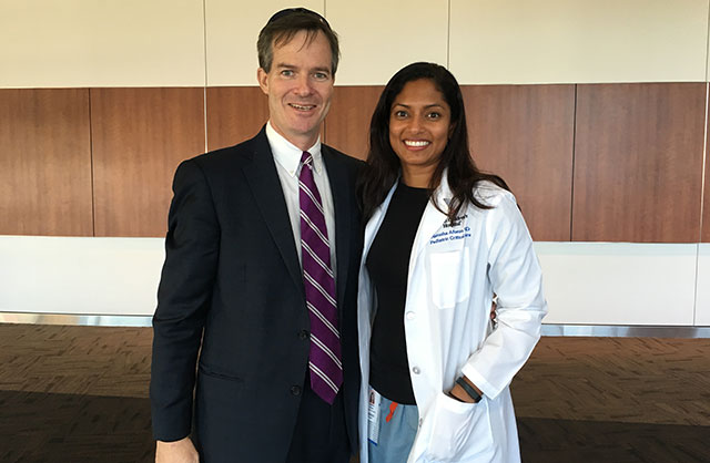 CVICU physician performs CPR, saves man's life during spin class