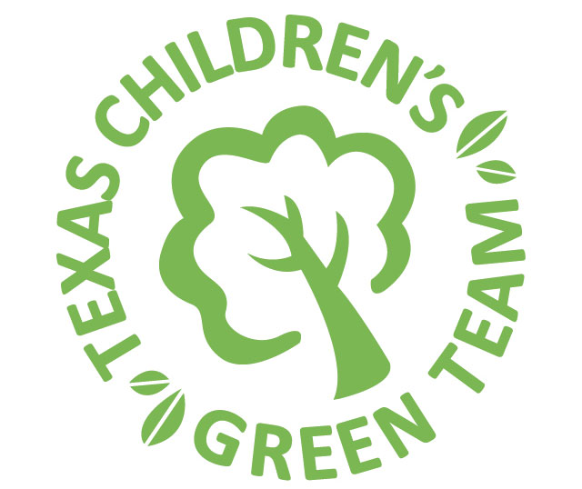 The Green Team helps Texas Children's GO GREEN every day