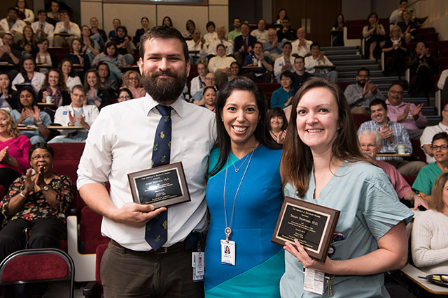Texas Children's presents Rudolph awards to fellows