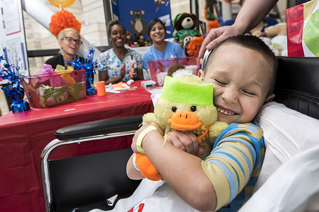 Teddy Bear clinic provides coping tool for patients, families