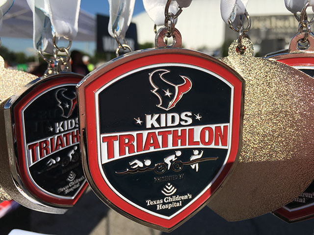 2016 Houston Texans Kid's Triathlon a success