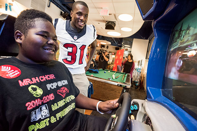 Enter to win a chance to meet two Houston Texans football players