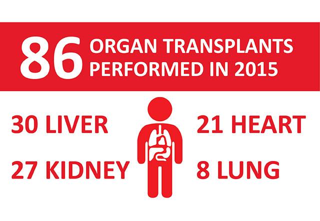 Texas Children's Transplant Services deemed most active pediatric transplant program in nation